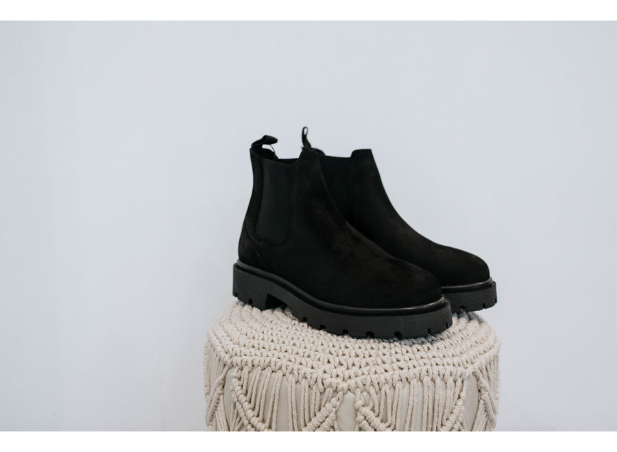 Emma Chelsea nubuck boot black SF