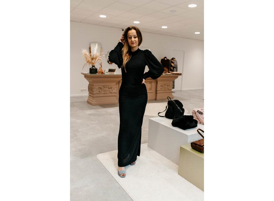 Chaia maxi dress black