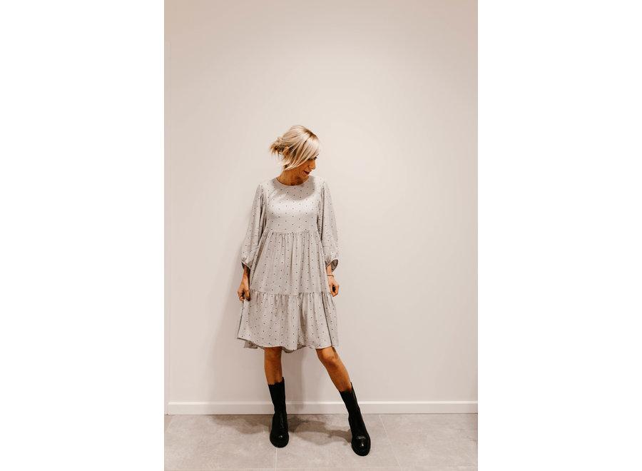 Dress carrie L5103 gray