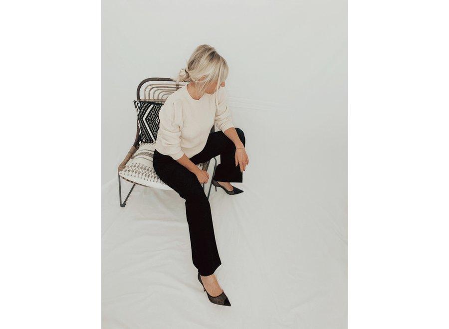 Rita Wide Pants Color Black