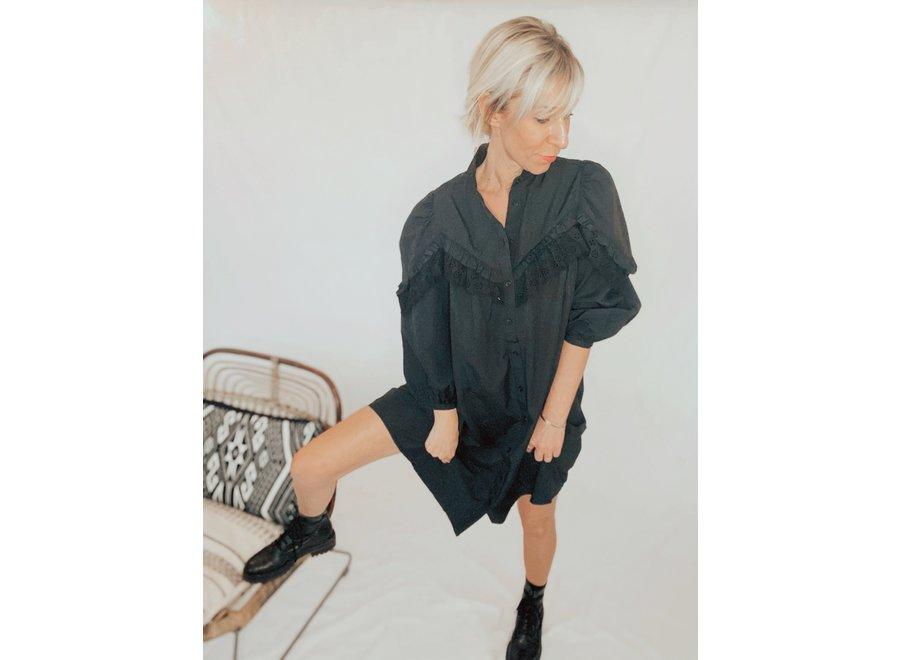 Umbria Regan Dress Color Black