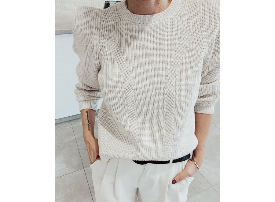 Carlotta Knit Pullover Color Pink