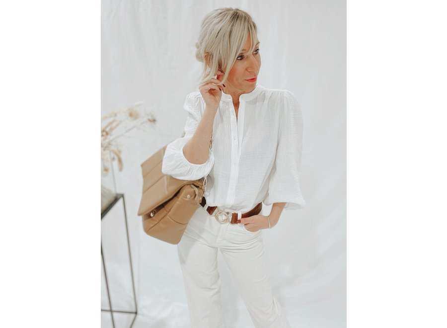 Solstice Renetta Shirt Color White