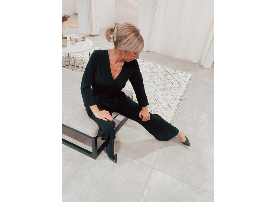 Westley Gilroy Jumpsuit Color Black