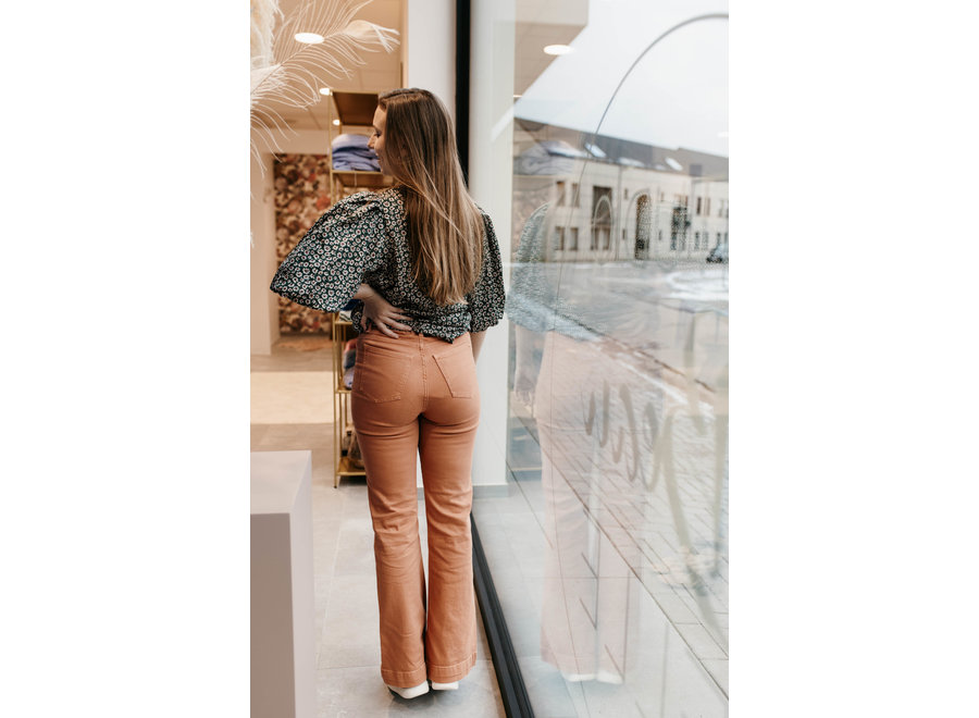 Luella flare jeans amber