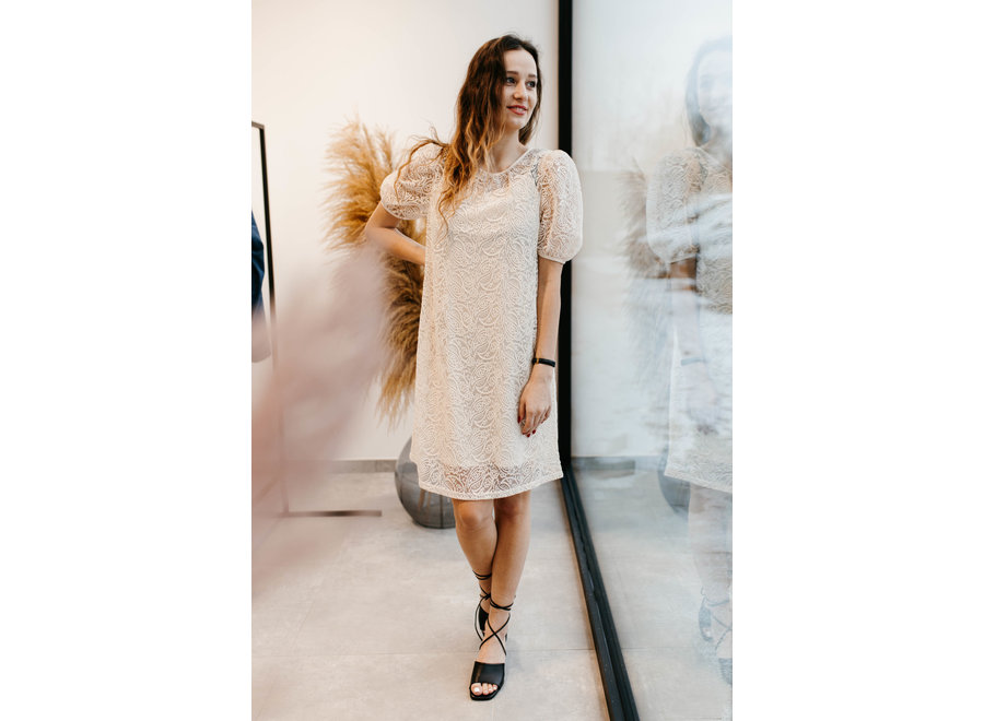 Lacia Dress Color Tapioca