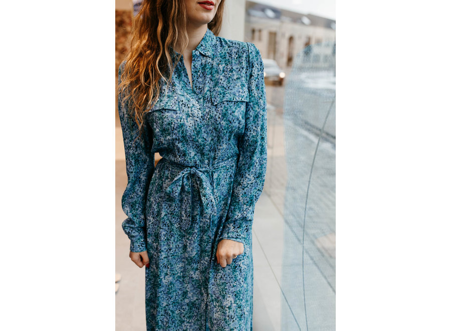 Beata Claudina Dress Color Blue