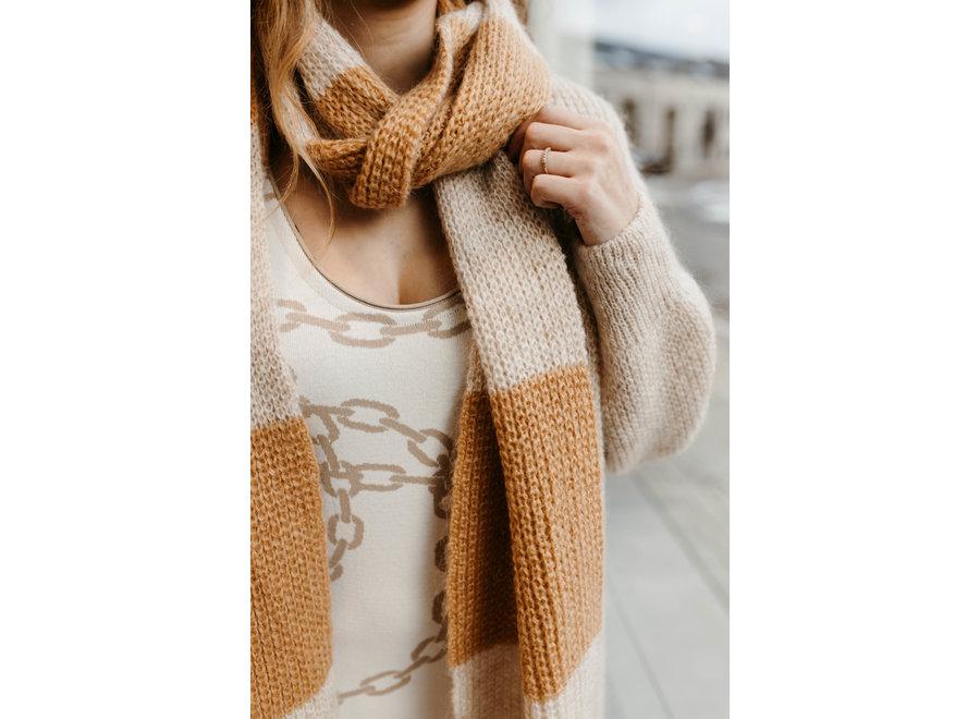 Gypsy knit dress sand