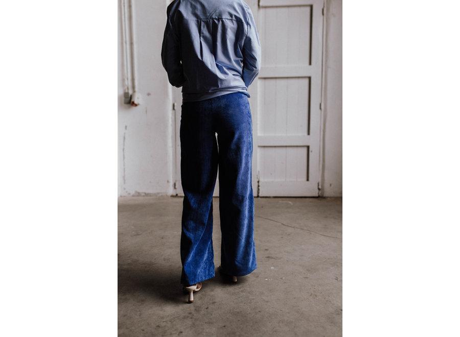 Pants zampa blue