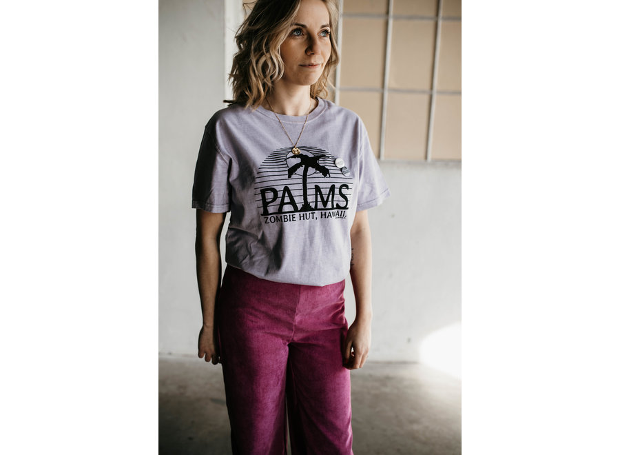 Trucker Palms T-Shirt Color Lilac
