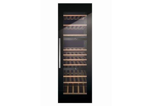 Kupperbusch wijnbewaarkast met 3 zones voor 97 flessen
