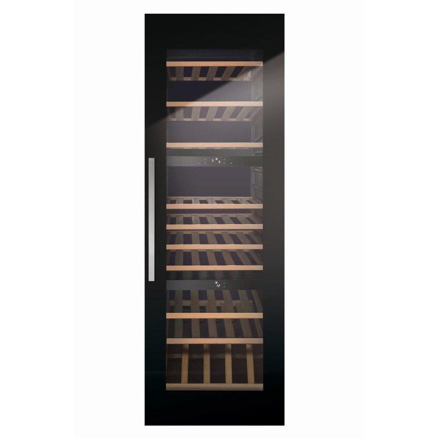 Wijnbewaarkast met 3 temperatuurzones - Totale inhoud van 97 flessen-1