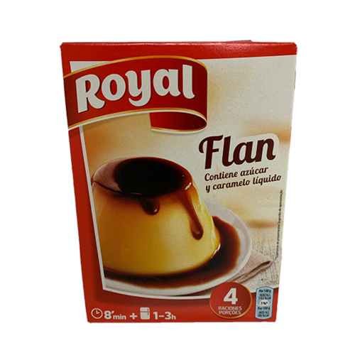 Royal Flan Royal Sencillo Puddingpulver 93g