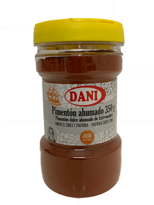 Dani Dani Pimentón ahumado (geräuchter Paprika) mild 350g