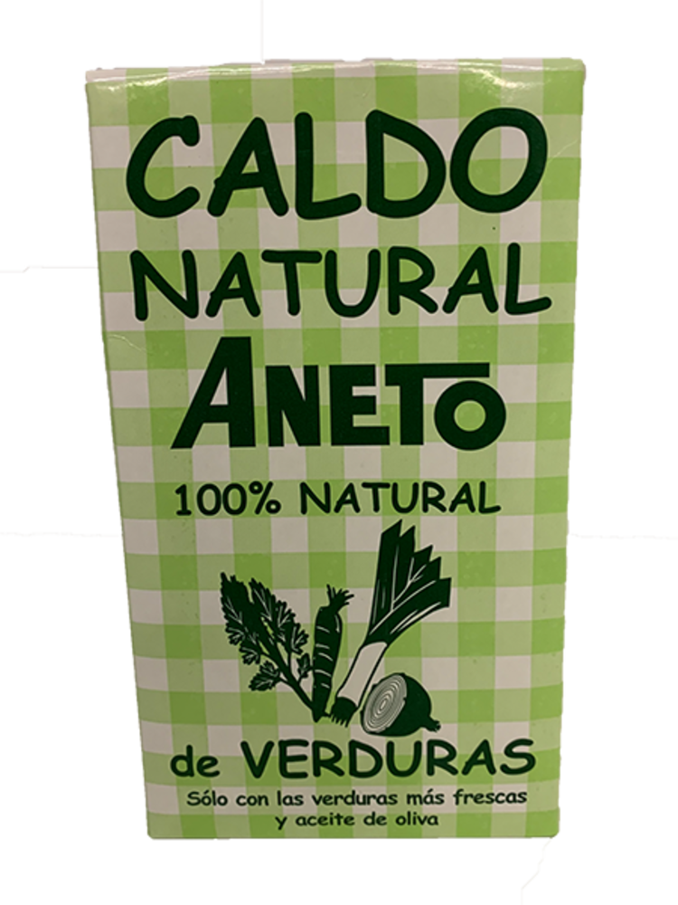 Aneto Aneto Caldo Natural de Verduras 1l