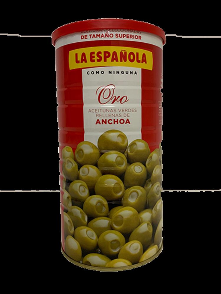 La Española La Española gefüllte Oliven mit Anchovis 600g