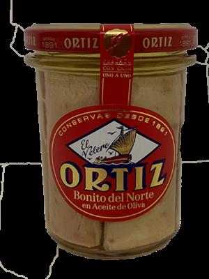 Ortiz Ortiz Bonito del Norte en Aceite de Oliva 150g
