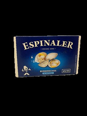 Espinaler Espinaler Berberechos 40/50 piezas 165g