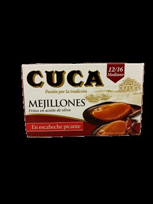 Cuca Cuca Mejillones en Escabeche Picante 69g