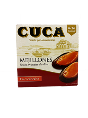 Cuca Cuca Mejillones (Miesmuscheln) in Marinade 69g