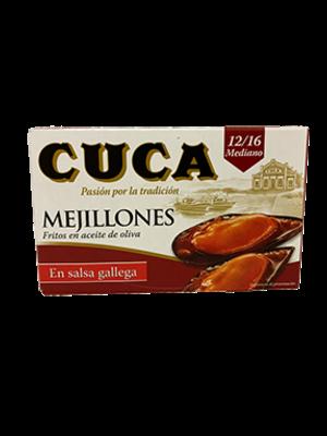 Cuca Cuca Mejillones (Miesmuscheln) in galizischer Sosse 69g