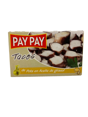Pay-Pay Pay-Pay Pulpo (Krake) Tacos in Pflanzenöl 72g