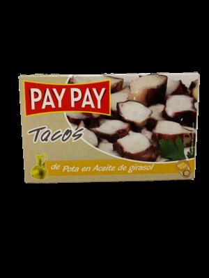 Pay-Pay Pay-Pay Tacos de Pulpo en Aceite Vegetal 72g