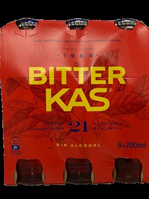 Bitter Kas Bitter KAS sin Alcohol 6x200ml