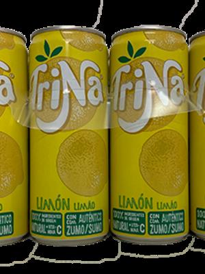 Trinaranjus Trina Limón Zitronenlimonade ohne Kohlensäure 8x330ml