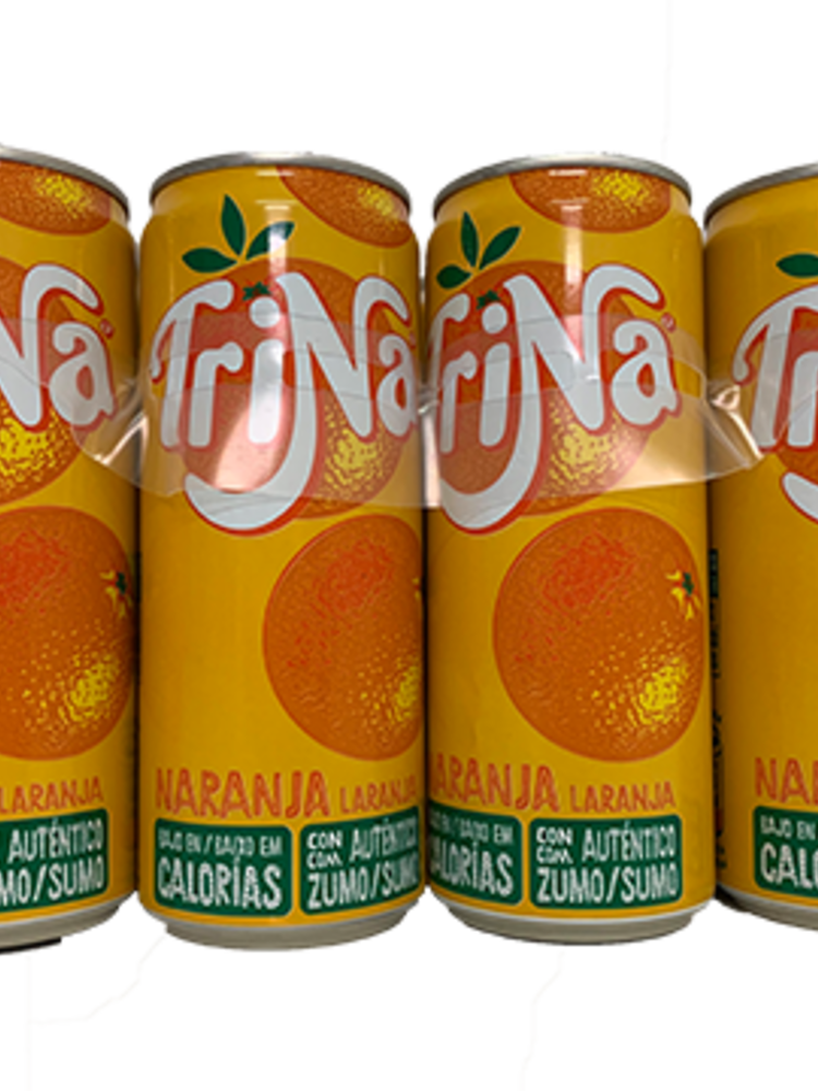 Trinaranjus Trina Naranja Orangenlimonade ohne Kohlensäure 8x330ml