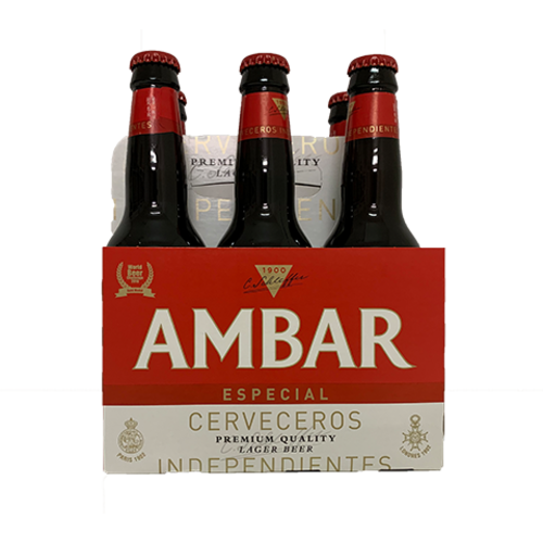 Ambar Bier Ambar Especial 6x330ml