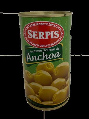 Serpis Serpis gefüllte Oliven mit Anchovis 150g