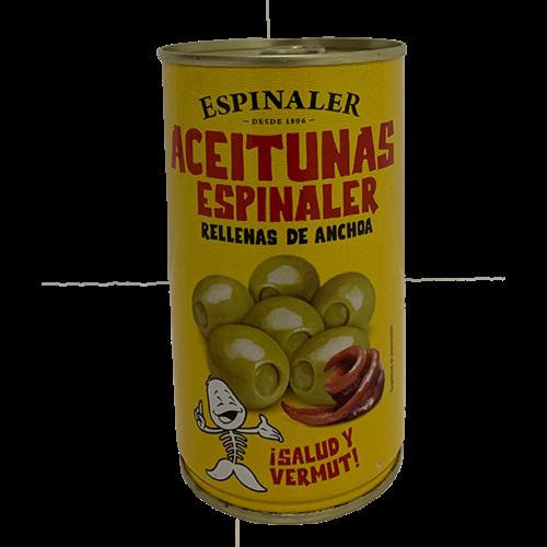 Espinaler Espinaler gefüllte Oliven mit Anchovis 350g
