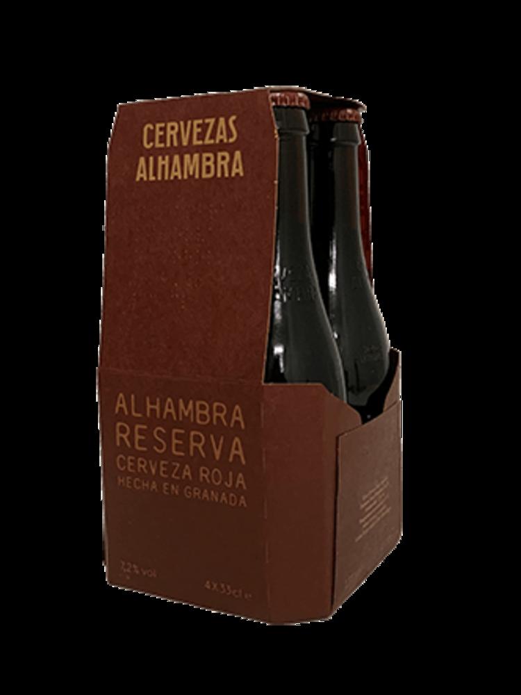 Alhambra Cerveza Alhambra Reserva Roja 4x330ml