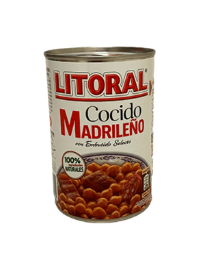 "Litoral Kichererbseneintopf ""Cocido Madrileño"" 440g"