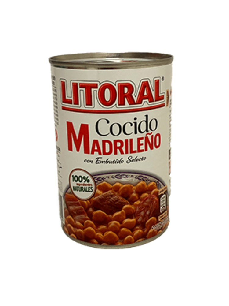 Litoral Litoral Cocido Madrileño 440g