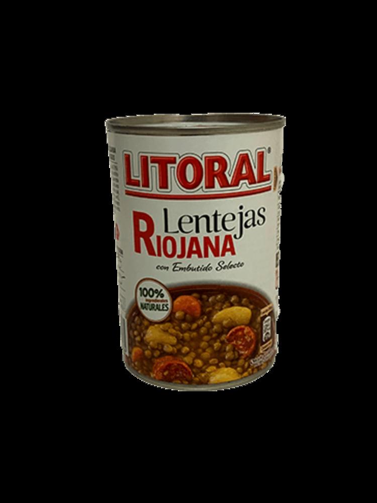 """Litoral Linseneintopf """"Lentejas Riojana"""" 430g"""