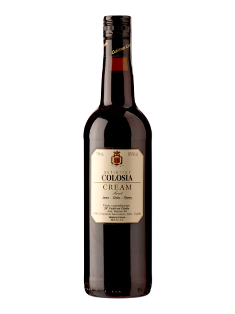 Sherry Cream, DO Jerez, Gutiérrez Colosía, 750ml