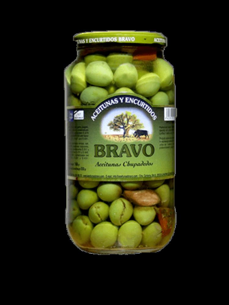 "Bravo Bravo Oliven ""chupadedos"" in Olivenöl"