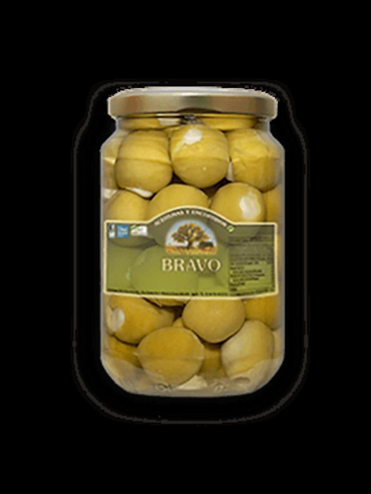 Bravo Bravo Oliven mit Knoblauch gefüllt