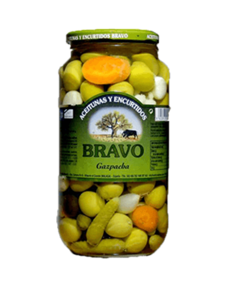 "Bravo Bravo Olivencocktail ""Gazpacha"""
