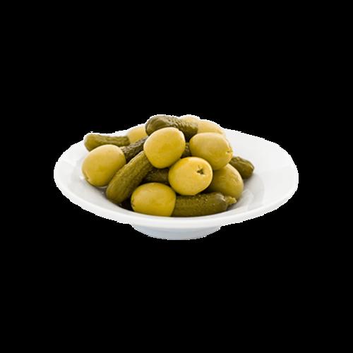 """Bravo Bravo """"Kimbitos"""" Oliven mit Essiggurken gefüllt"""
