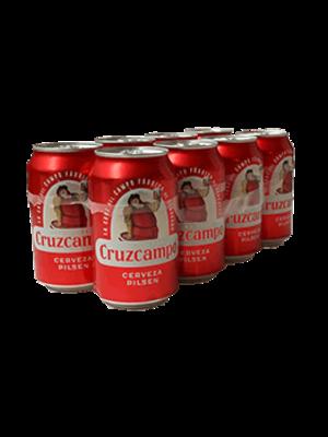 Cruzcampo Cerveza Cruzcampo lata 8x330ml