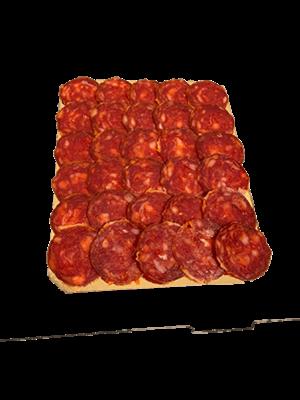 """Ezequiel Chorizo de León """"Picante"""" geschnitten 100g"""