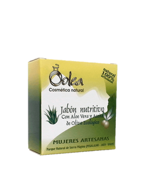 Olea Cosmeticos Pflegende Seife mit Bio Olivenöl