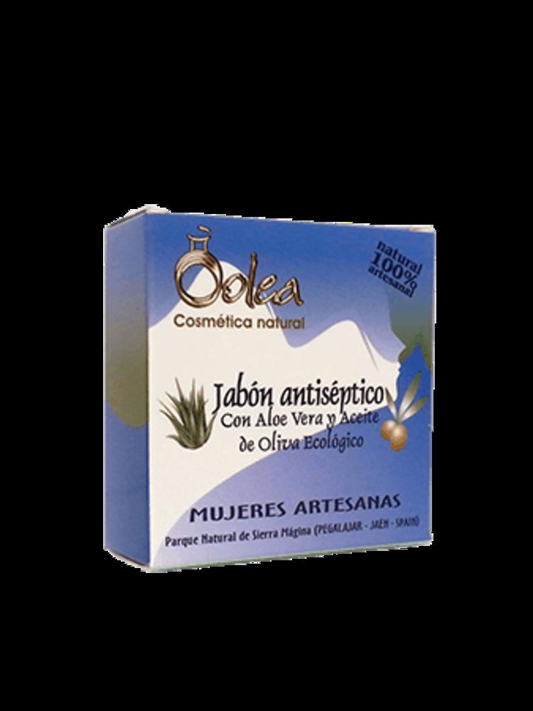 Olea Cosmeticos Antiseptische Seife mit Bio Olivenöl