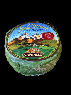 Campillo Queso Azúl con Hojas ~3kg