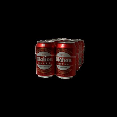 Mahou Cerveza Mahou 5 Estrellas 8x33cl lata