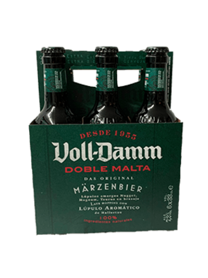 Märzenbier Voll-Damm 6x33cl