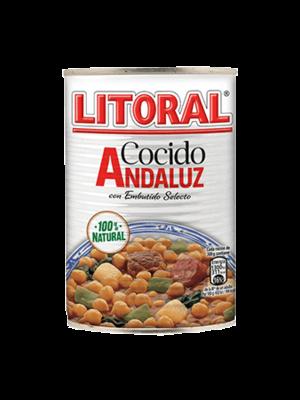 Litoral Litoral Cocido Andaluz 425g
